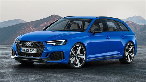 2018 Audi RS4 revealed, ditches V8 and manual transmission